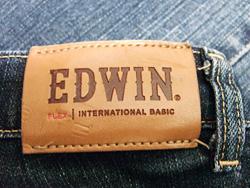 エドウィンのジーンズ
