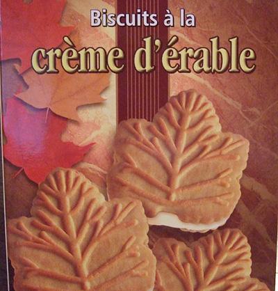 カナダのクッキー